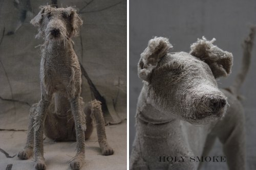 Dog Sculptures by Holy Smoke