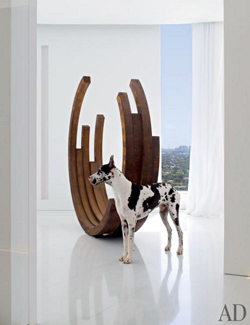 Spotted: The Pets of Architectural Digest