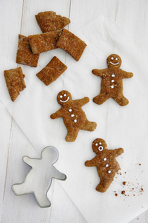 Dog-I-Y: Gingerbread Men from '52 Weeks of Treats' by Serena Faber Nelson with Sarah Dickerson