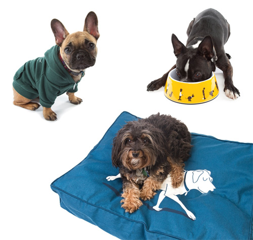 New Dog Hoodies, Bowls, and Beds from Threadless