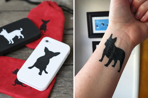 Steadfast Friends Dog Breed iPhone Cases and Temporary Tattoos