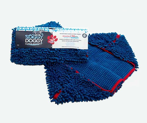 Mingus & Dottie Try It: Soggy Doggy Super Shammy and Doormat