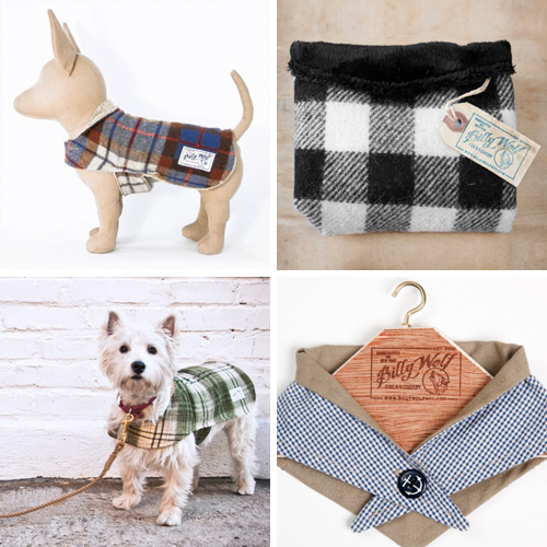 Dog Jackets and Bandanas from Billy Wolf Fine K9 Coatery