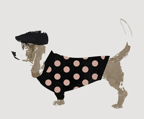 Dog Prints and Illustrations by Gus and Abby