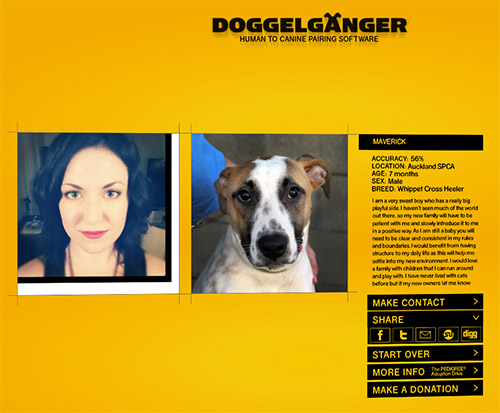 Doggelganger: Human to Canine Pairing Software