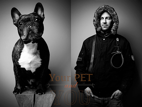 Your Pet and You: A Photographic Portrait Series by Tobias Lang