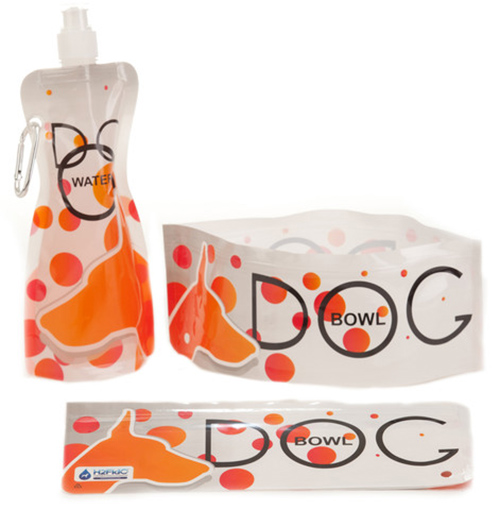 H2FidO Collapsible Travel Bowl and Water Bottle