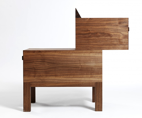 Drawgg: A Dog-Shaped Drawer by Broken Home