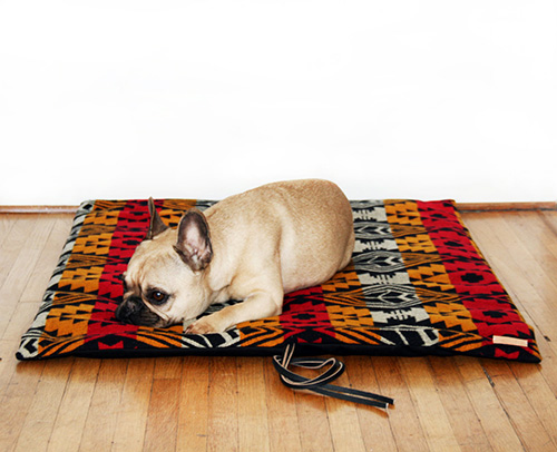 The Camp Mat Pet Travel Bed by Grey Paw