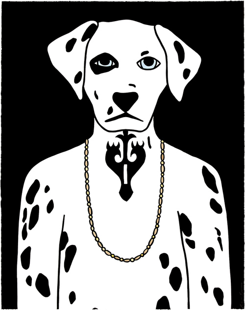 Dog Illustrations by Rona Green