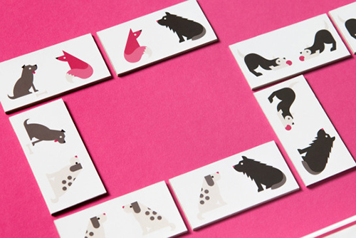 Spotted: Designer Dog Dominoes