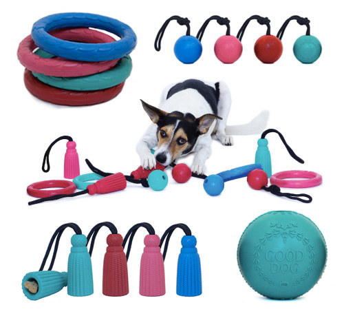 New Rubber Toy Collection from Harry Barker