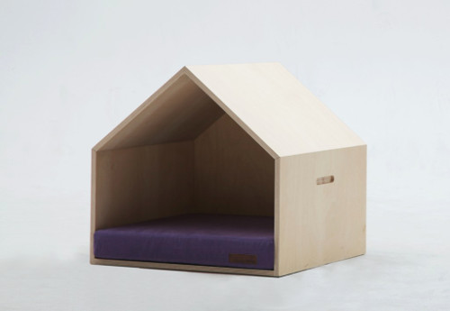 Modern Plywood Dog House from mPup