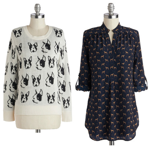 Fall Looks for Dog Lovers at Modcloth