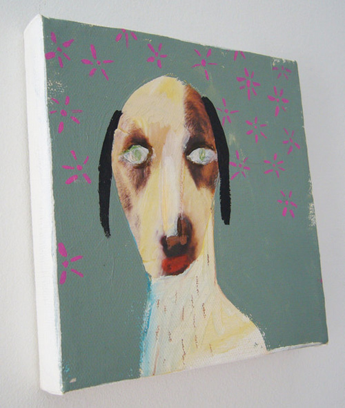 Dog Collage by Katherine Streeter