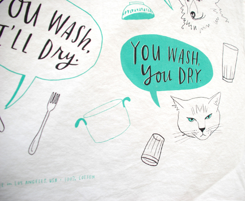 Temporary Tattoos and Tea Towels by Emily McDowell