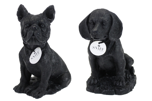 Sculpted Dog Breed Candles by Sniff Pet Products