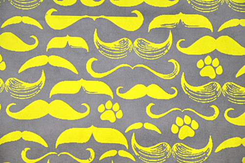 Mustache Dog Bed from P.L.A.Y.