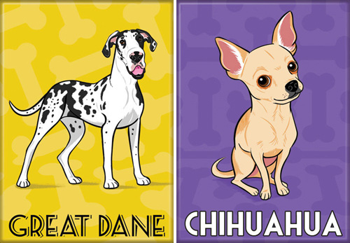Dog Breed Series by Lili Chin
