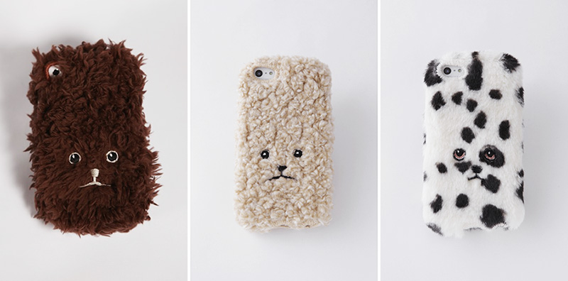 Fuzzy Toy Poodle iPhone Covers from KEORA KEORA