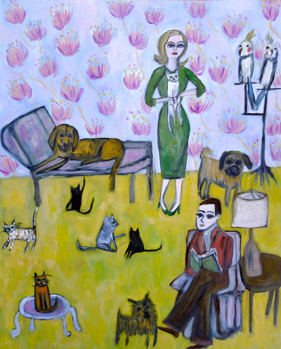 vivienne strauss dog art 3