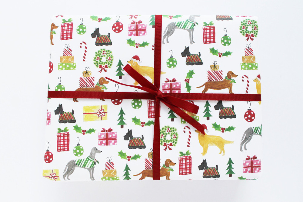New Gift Wrap and Greeting Cards from Lydia & Pugs