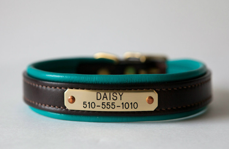 Equestrian-Style Dog Collars from Daisy1010