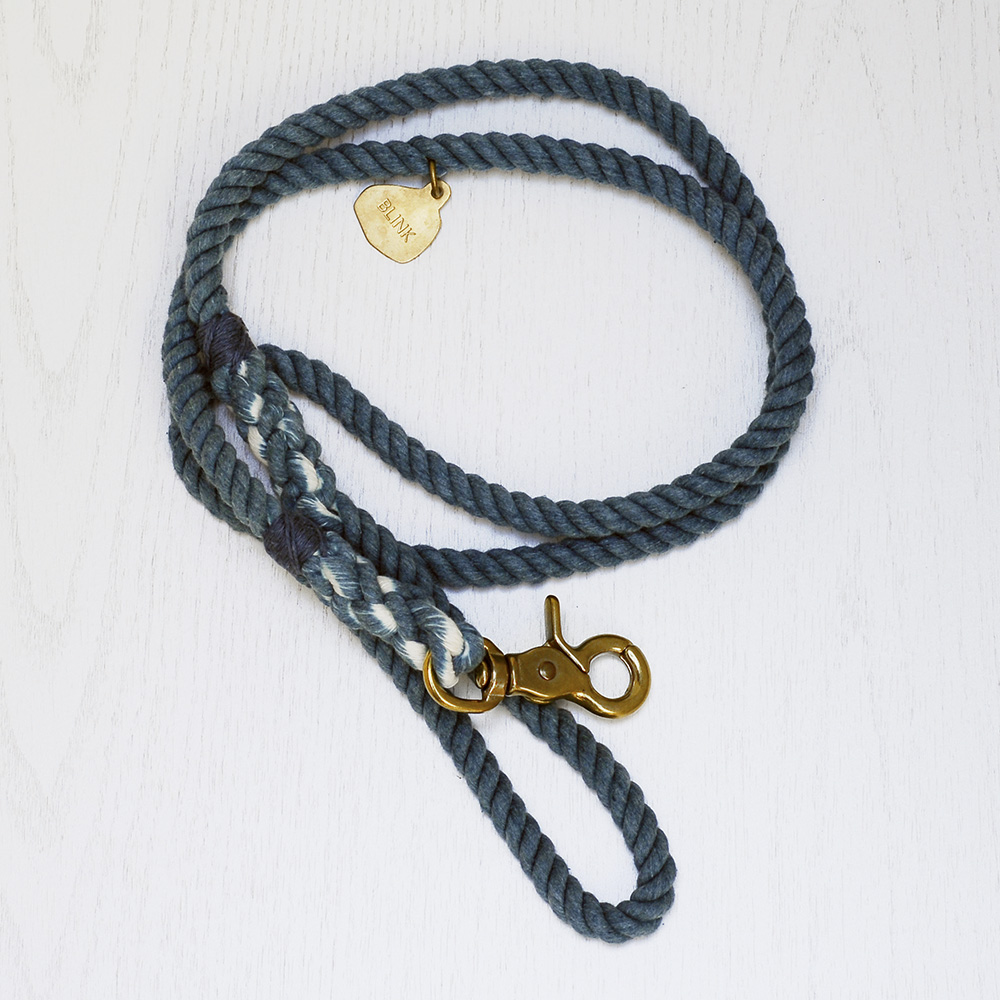 Review: Handmade Rope Dog Collars and Leashes by BLINK