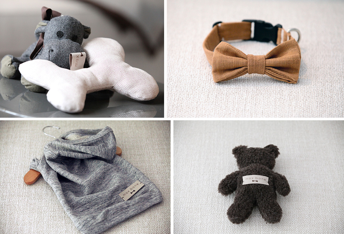 Modern Dog Collars, Beds, and Toys from Max Bone