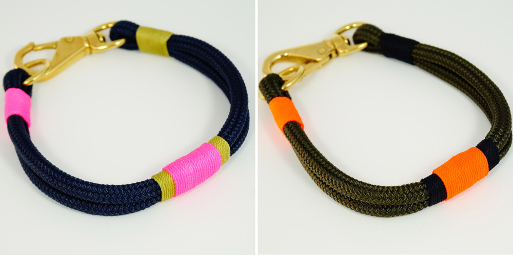 Nautical-Inspired Rope Collars and Leashes by RuggedWrist