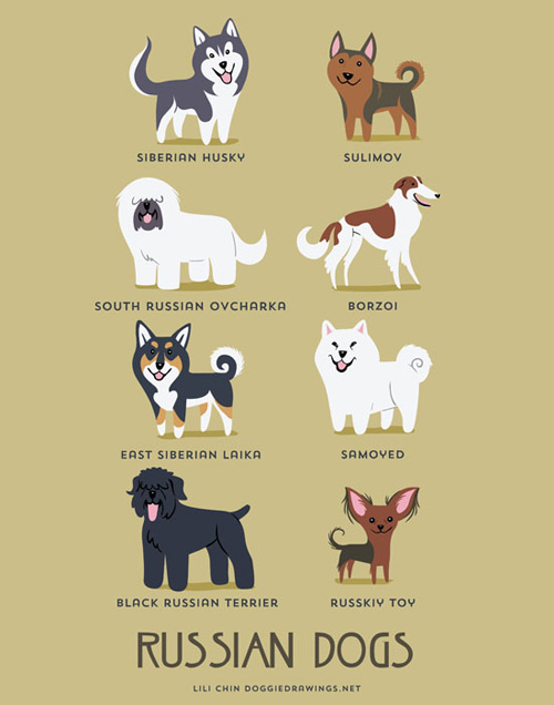 russian-dogs-illustration-by-lili-chin