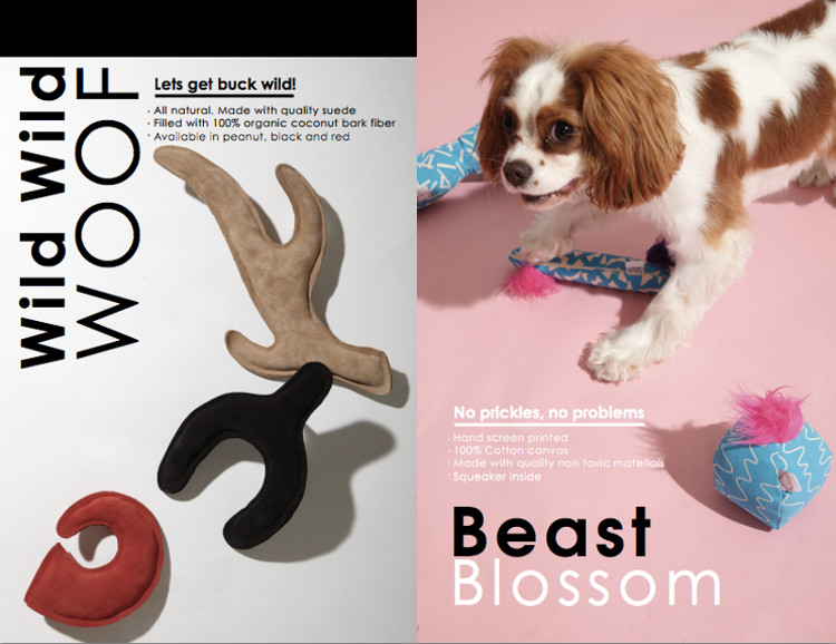 New Dog Toy Collection from LoveThyBeast