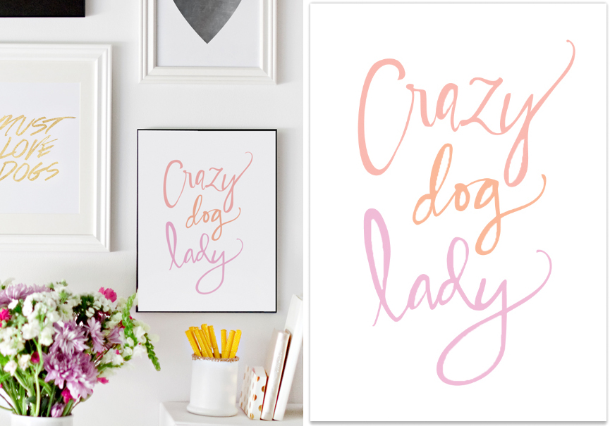 Introducing the Pretty Fluffy Print Shop