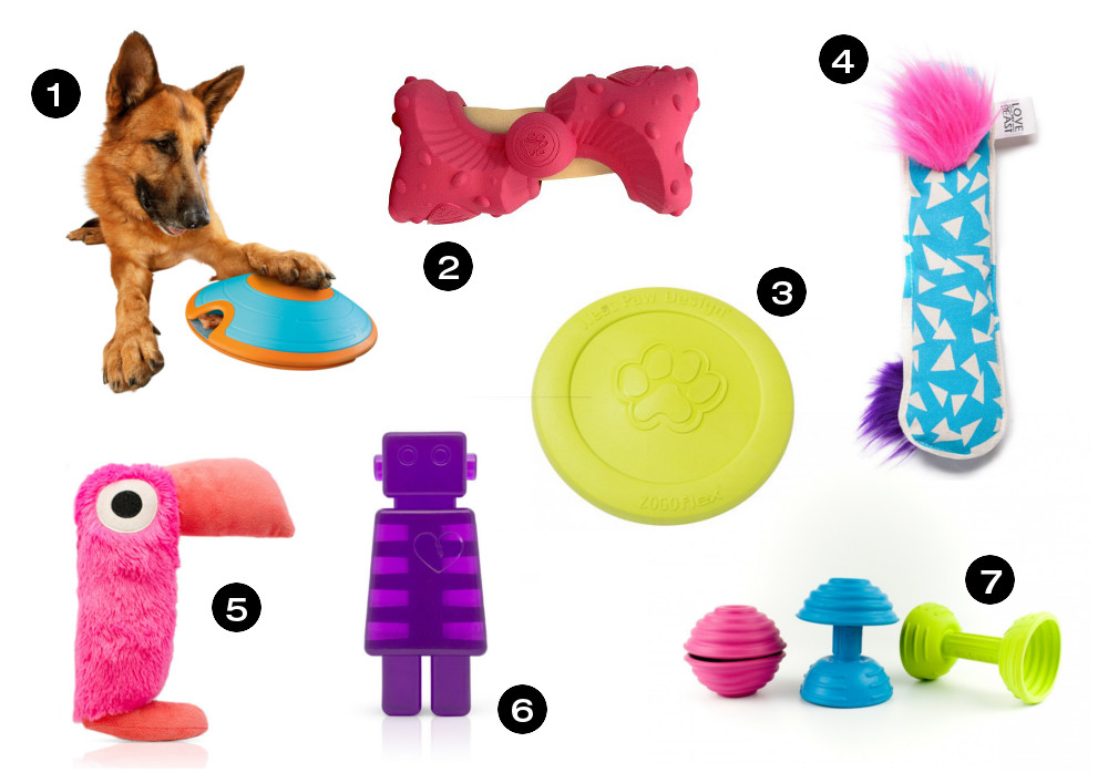 Dog Milk Holiday Gift Guide: 15 Awesome Toys for Dogs