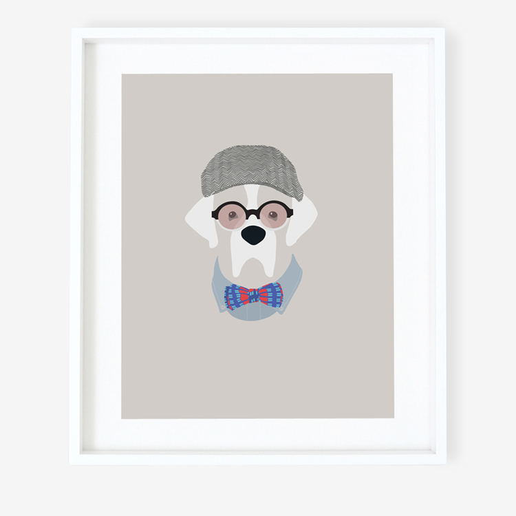 Woof Models Dog Illustrations by Sum Leung