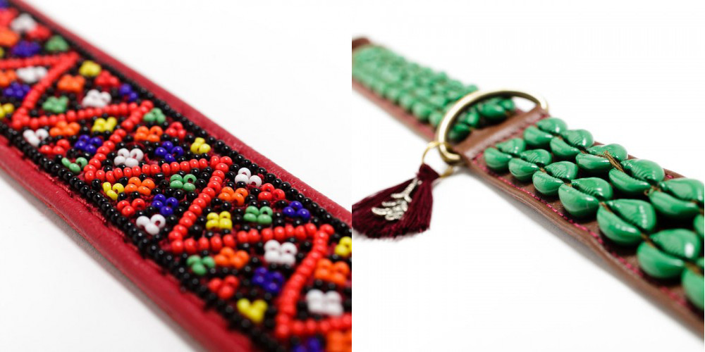 Embellished Collars and Leashes from Maclaud It Dogs