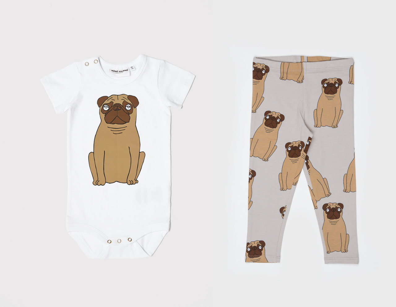 Pug-Themed Children's Accessories and Clothing from Mini Rodini