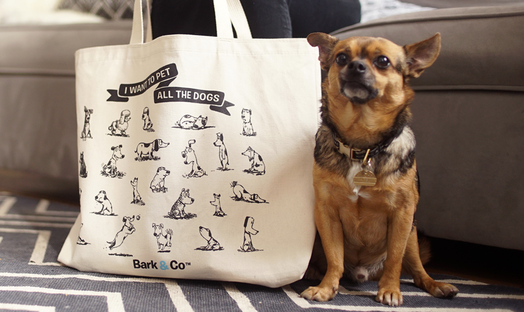 ALL the dogs Tote Bag