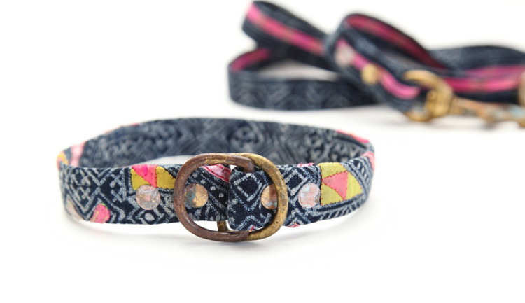 Handmade Collars and Leashes from Beast and Babe