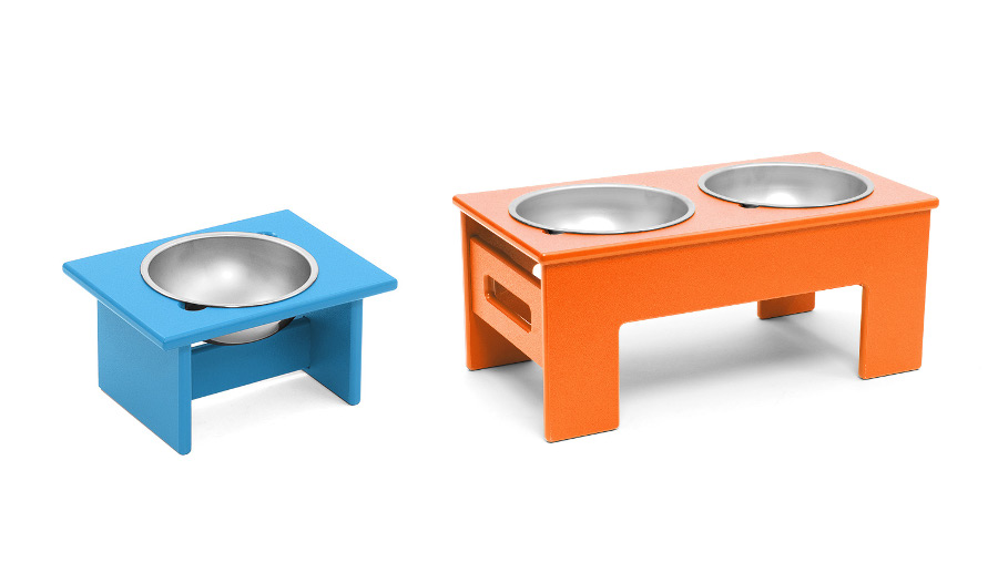 Eco-Friendly Raised Dog Feeders from Loll Designs
