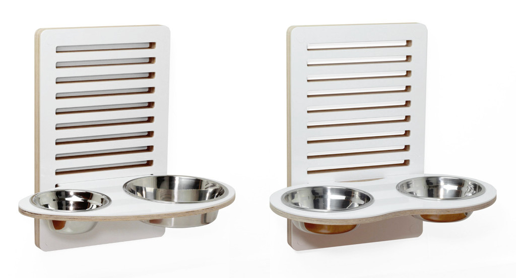 Modern Wall-Mounted Pet Feeders from Drip Module