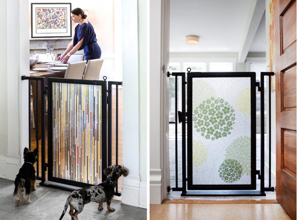Modern Pet Gates from Fusion Gates