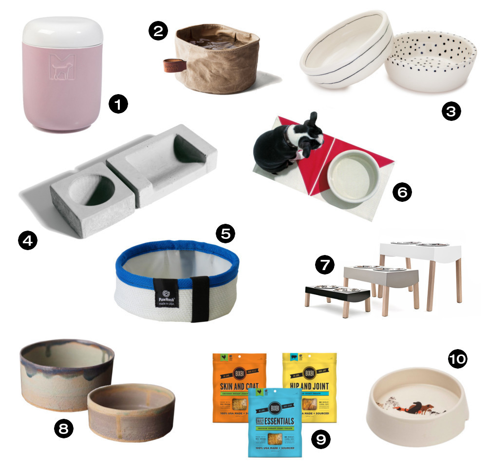Dog Milk Holiday Gift Guide: 21 Modern Dog Bowls and Feeders