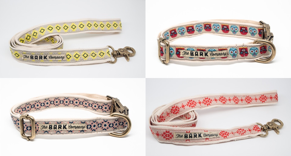 Handmade Collars and Leashes from The Bark Co.