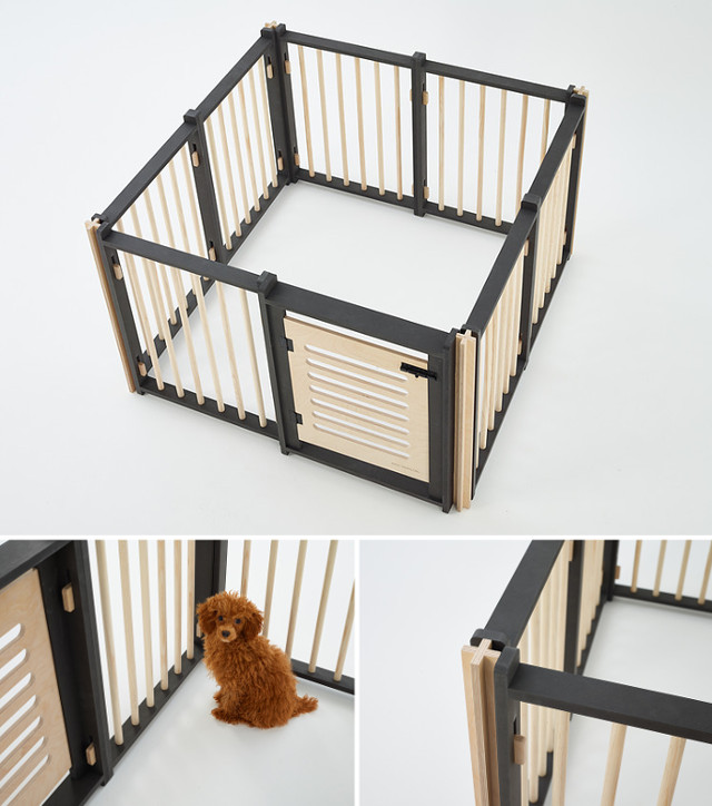 Modern Dog Houses and Beds from Bad Marlon