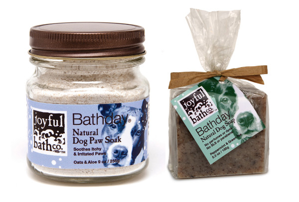 Natural Bar Soap for Dogs from Joyful Bath Co.