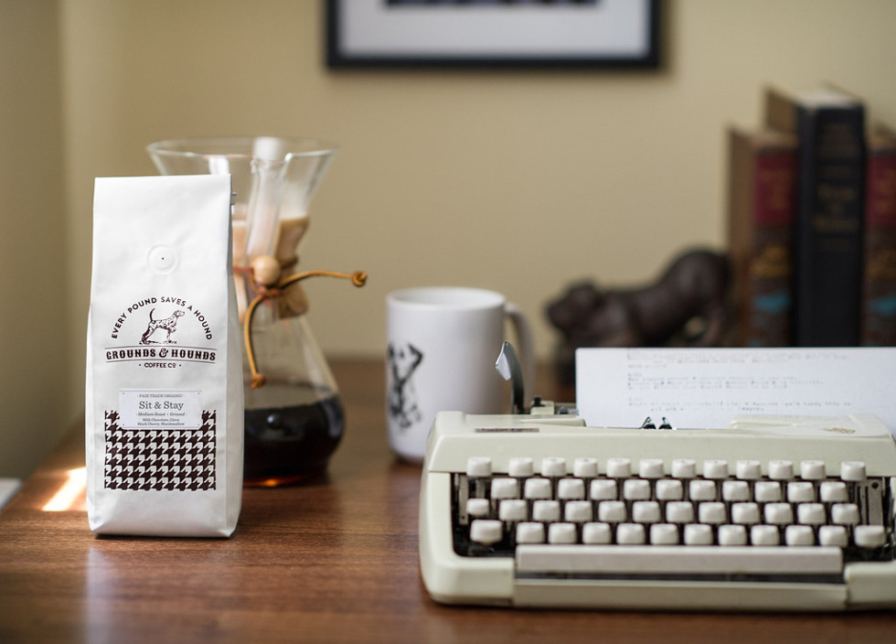 Grounds & Hounds Coffee Co. Anniversary Blend