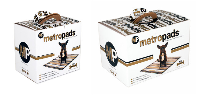 Stylish Training Pads from Metro Paws