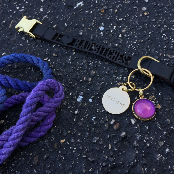 Mood Dog Collar Charm from NOTYERS