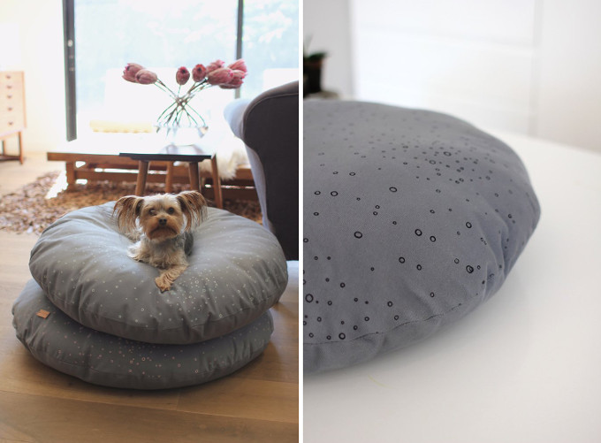 Wool and Canvas Dog Beds from Benji + Moon